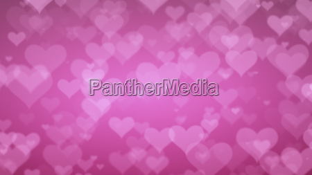 soft pink background with hearts valentines