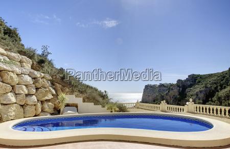 spanien costa blanca hotelschwimmbad