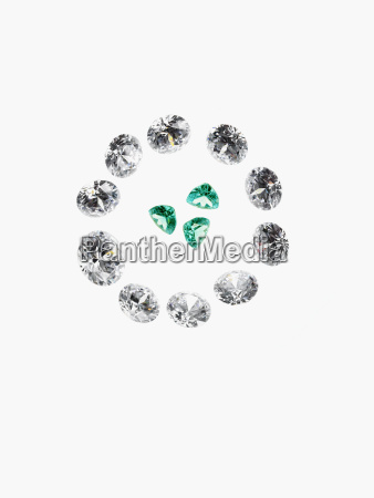 diamanten und smaragde