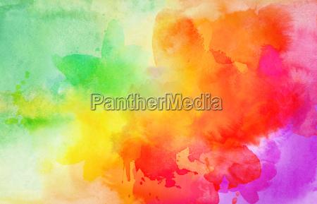 aquarell, farben, textur, verlauf, bunt - 23958234