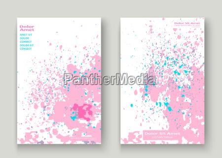 broschuere musik komposition farbe grafik staub