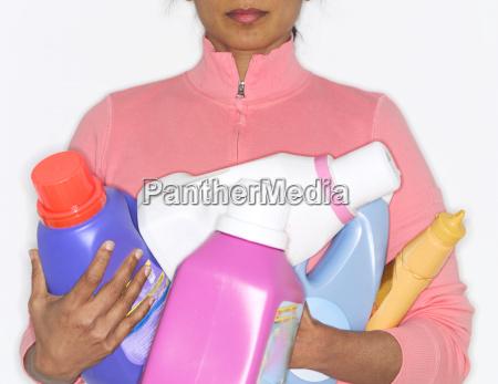 horizontal vorderansicht flasche waagerecht vielfalt spuelmittel