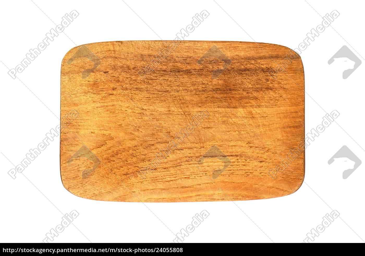 Isoliertes Frühstücksbrett aus Holz - Lizenzfreies Foto - #24055808 ...