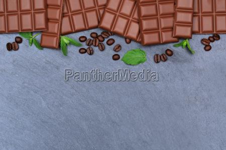 schokolade milchschokolade tafel schiefertafel essen textfreiraum