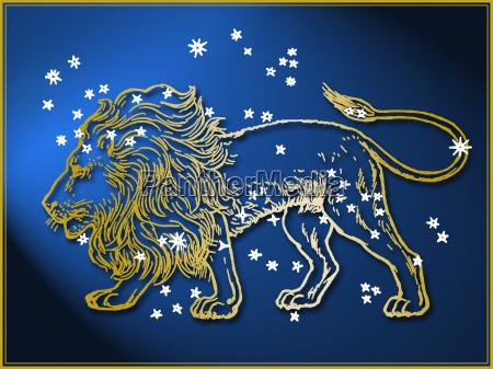 astrologisches zeichen loewe