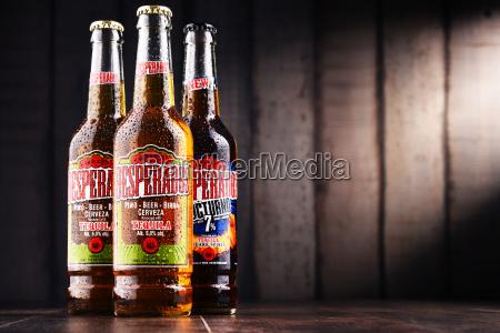 drei flaschen desperados bier