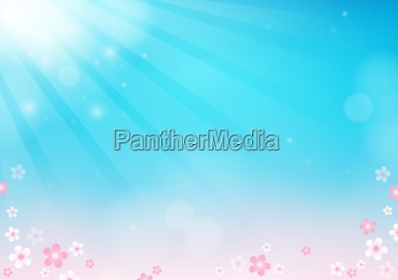 flower theme abstract background 2