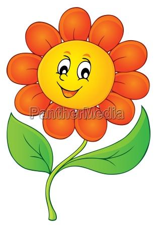 happy flower theme image 3