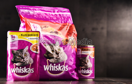 whiskas katzenfutterprodukte von mars incorporated