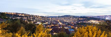 germany baden wuerttemberg stuttgart cityscape