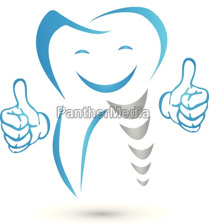 zahnimplantat zahn implantat zahnmedizin logo