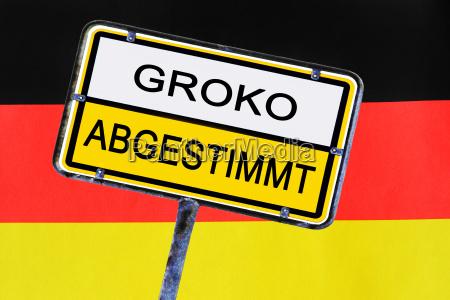 schild deutschland hat ueber die