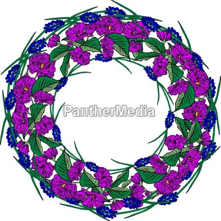 blau sommer sommerlich fruehjahr form bluetenblatt