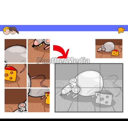 jigsaw puzzles with mouse or rat