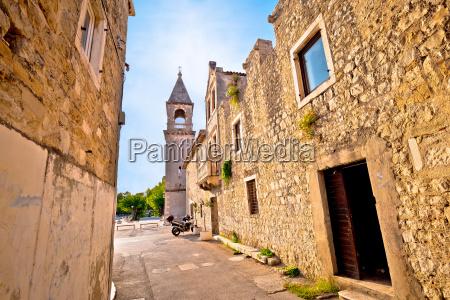 kastel sucurac street historic architecture view