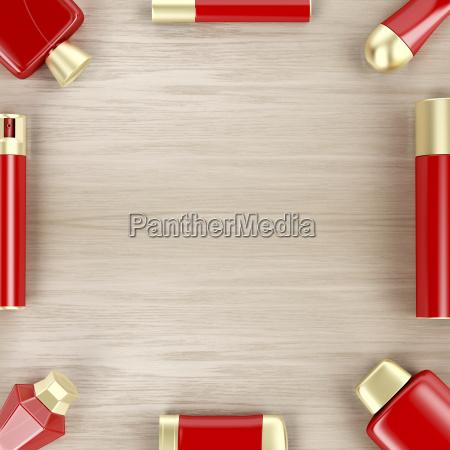 parfum gischt spruehen parfuemieren deodorant gruppieren