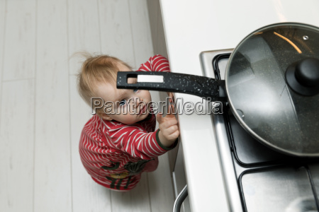 child safety at home concept