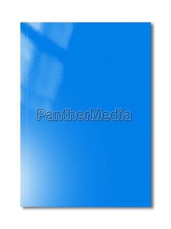 blaue booklet cover vorlage