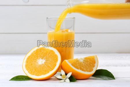 orangensaft einschenken eingiessen eingiessen orangen saft