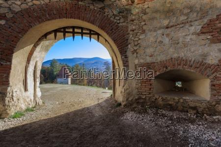 rasnov citadel romania