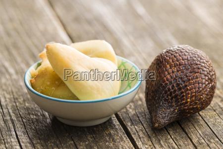 salak frucht salacca zalacca schlangen frucht