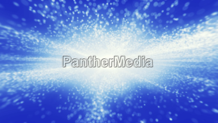 abstract blue background bright light on