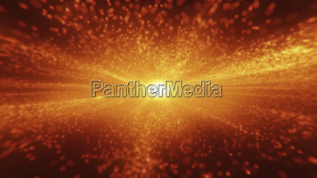 abstract red background bright light on