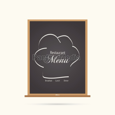menu chalkboard illustration