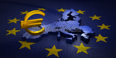 sign euro on the