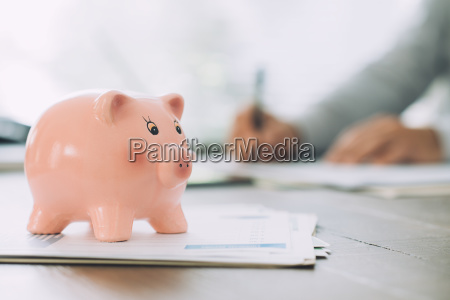 money deposit loans and funds concept