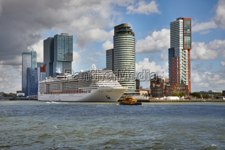 rotterdam from the water