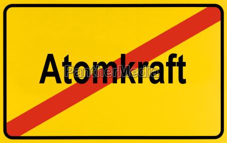 symbolbild ende der atomkraft