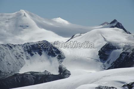 schnee eis und gletscher in der