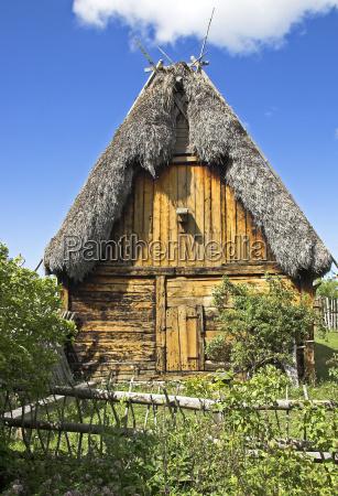 mittelalterlicher bauernhof bunge gotland