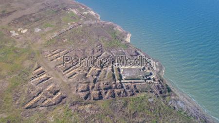 argamum organe fortress ruins romania