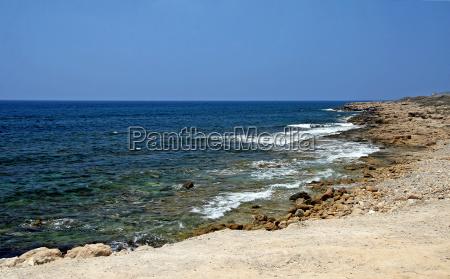 strand paphos zypern