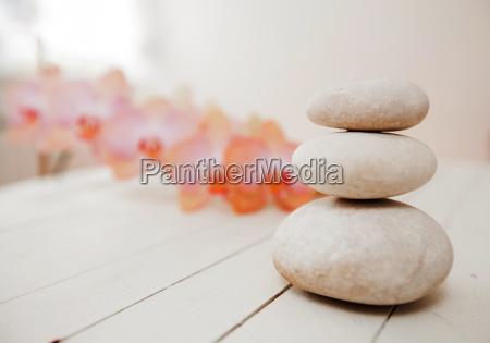 lebensstil entspannung stein harmonie eintracht erleichtern