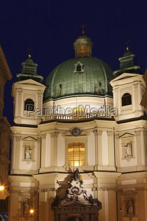 peterskirche wien osterreich