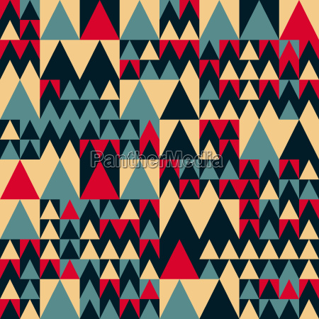 vector seamless red navy blue tan