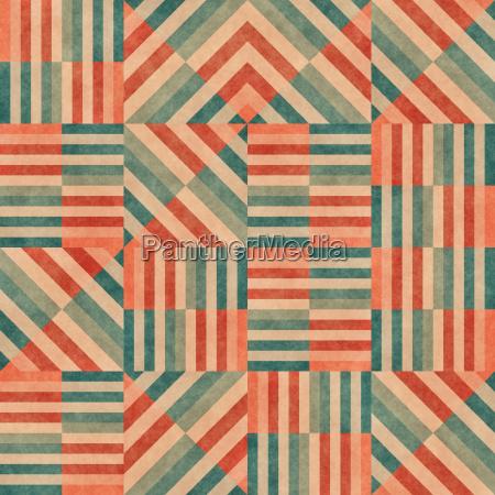 blau fliessen grafik modern moderne weinlese