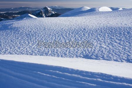 mala fatra nationalpark im winter