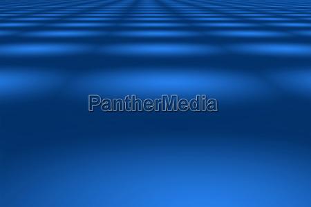 abstrakter blauer hintergrund aus perspektivisch zulaufenden