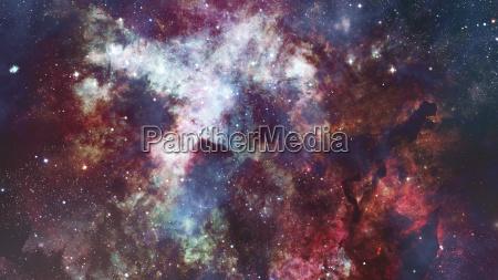 bunte sternenhimmel weltraum elemente dieses bildes