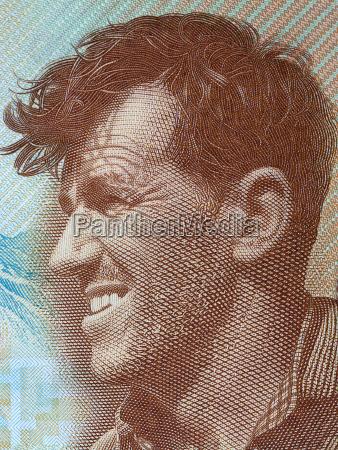portrait portraet potrait neuseeland bildnis brustbild