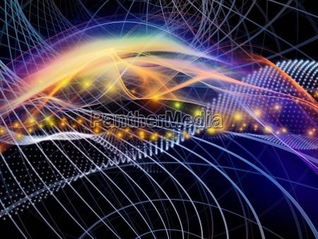 energy of virtual world