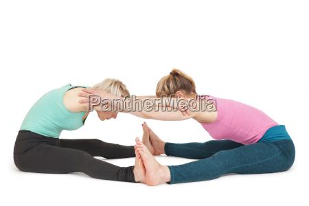 yoga women position175