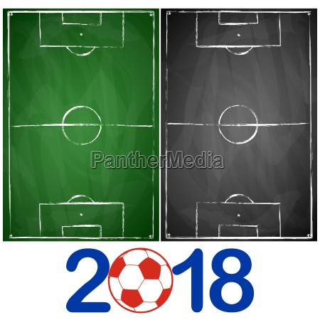 green and gray black board soccer
