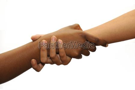 symbolbild hilfe entwicklungshilfe farbige