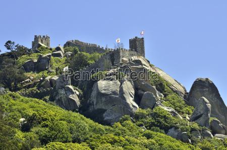 burg ruine castelo dos mouros in