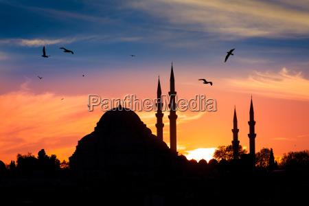 religioes glaeubig nacht nachtzeit islam moschee